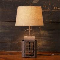 New Primitive Country Farmhouse RUSTY CANDLE LANTERN LAMP ...