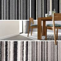 Grey Striped Carpets, Grey Stripe Carpet, Cheap Carpets