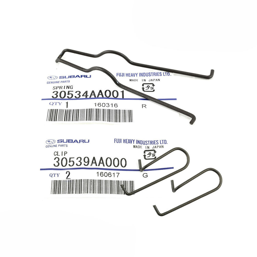 90-17 Subaru Clutch Fork Spring & Clip Set OEM NEW