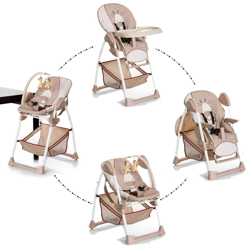 NEW HAUCK SIT N RELAX 2 IN 1 HIGHCHAIR BABY HIGH CHAIR