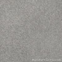 Silver Grey Feltback Twist Bedroom Carpet, Cheap Roll