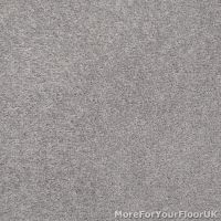 Silver Grey Feltback Twist Bedroom Carpet, Cheap Roll | eBay
