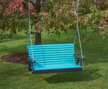 4 Ft-poly Lumber Amish Crafted Rollback Porch Swing Heavy