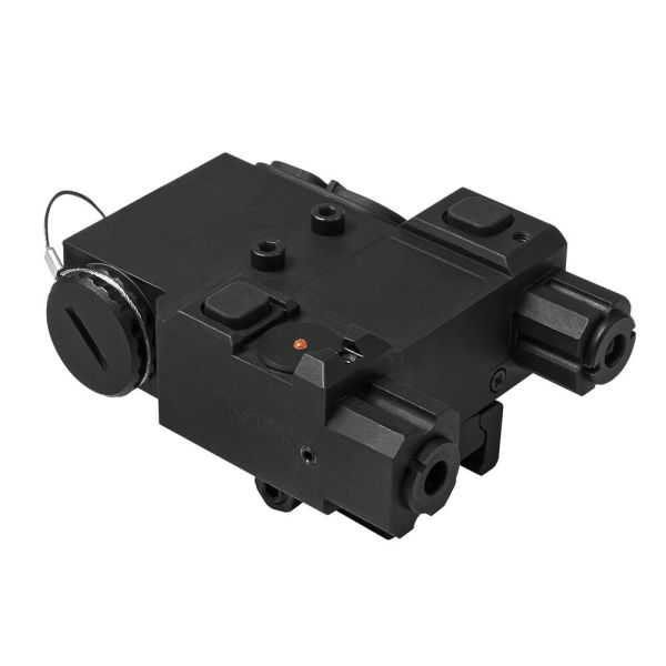 Ncstar Green & Ir Infrared Laser Designator Box Withqr Mount Pressure Switch