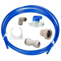American Style Fridge Freezer Water Hose Connection to ...