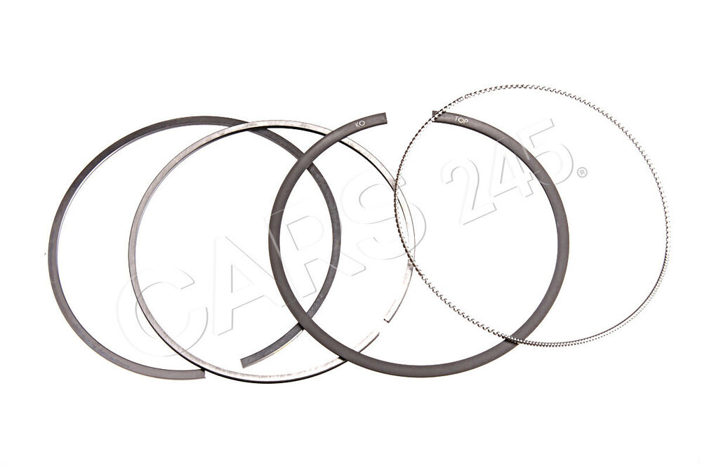 Genuine 1 set: piston rings VW Audi A4 Avant S4 Cabrio
