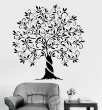 Vinyl Wall Decal Family Tree Of Life Nature Home ...