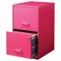 Hirsh 2 Drawer File Cabinet in Pink | eBay