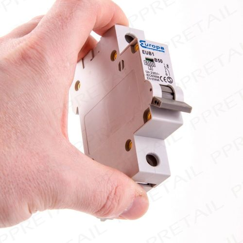 small resolution of details about 50a miniature circuit breaker type b single pole amp mcb fuse box 230v 6ka fix