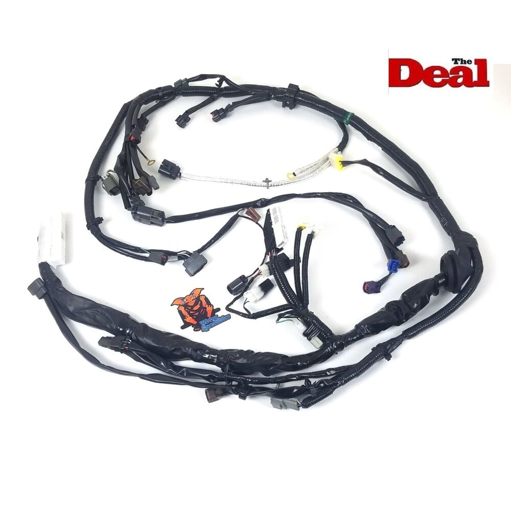 hight resolution of details about wiring specialties oem engine tranny harness for nissan s14 ka24 ka24de 240sx