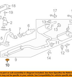 gm oem exhaust system hanger 10056770 ebay 1997 saturn sl series exhaust diagram category exhaust diagram [ 1000 x 798 Pixel ]