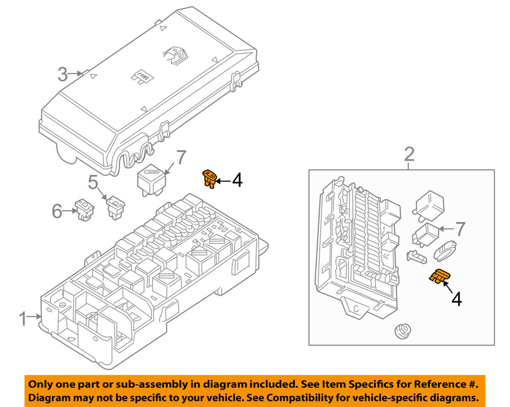 hight resolution of details about land rover oem 99 04 discovery fuse rtc4507