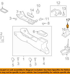 details about ford oem 08 11 focus transmission gear shift knob shifter handle 8s4z7213a [ 1000 x 798 Pixel ]