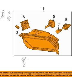 details about ford oem 10 12 mustang headlight assembly ar3z13008e [ 1000 x 798 Pixel ]