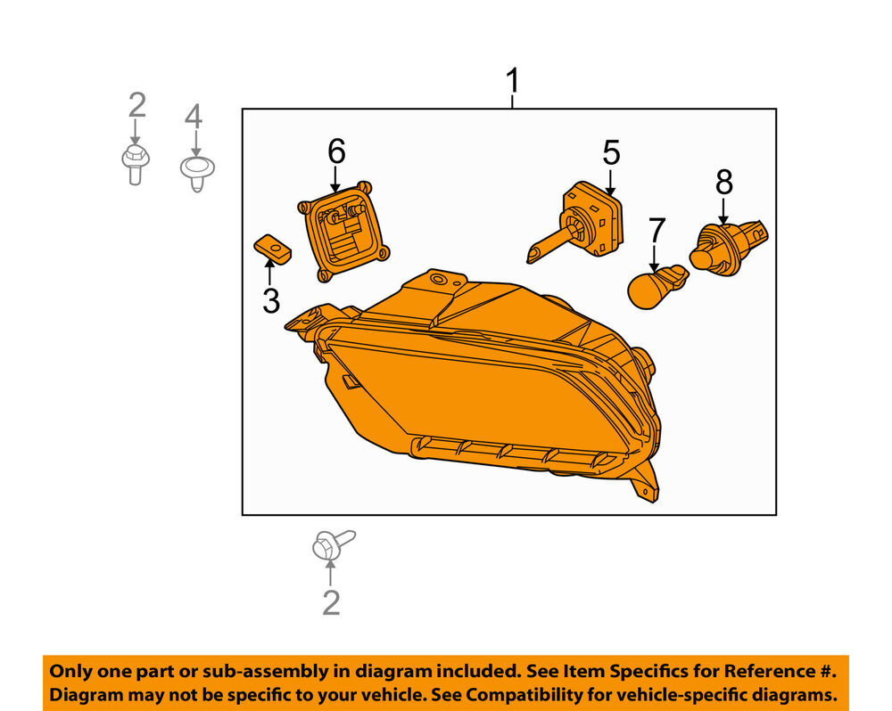 hight resolution of details about ford oem 10 12 mustang headlight assembly ar3z13008e