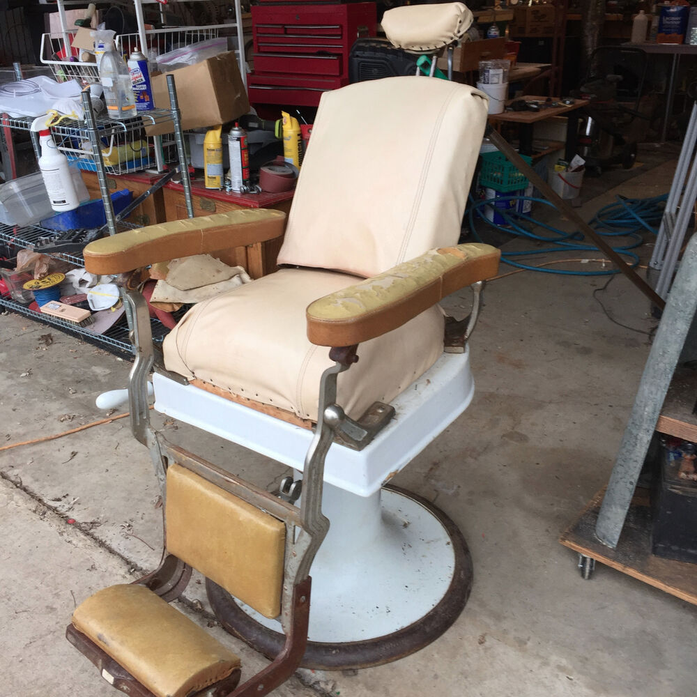 Koken Barber Chairs Koken Antique Barber Chair Ebay
