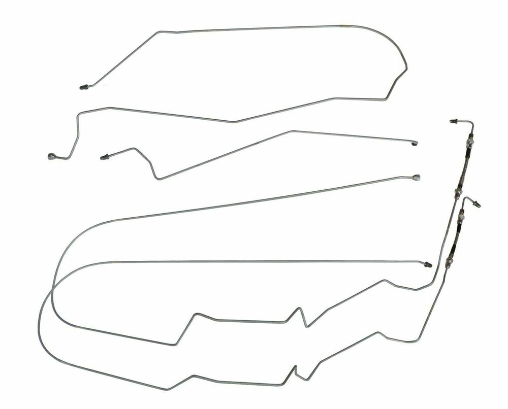 00-05 Chevrolet Monte Carlo Mid Chassis Brake Lines Kit