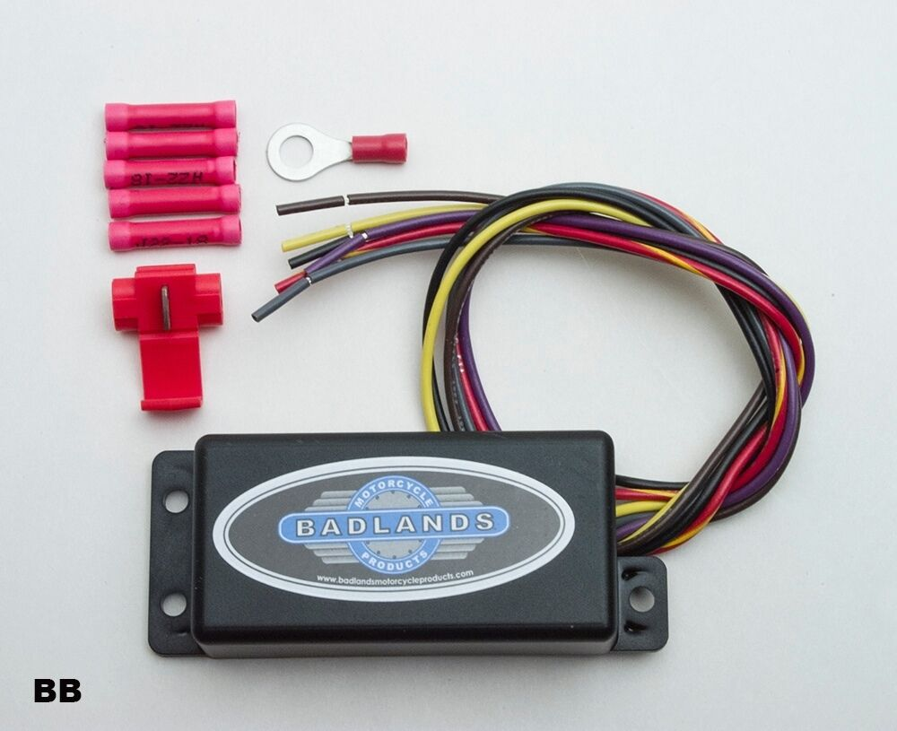 medium resolution of  ats controller badlands ats 03 automatic turn signal canceling module 1973 90 on badlands motorcycle products wiring diagram wiring
