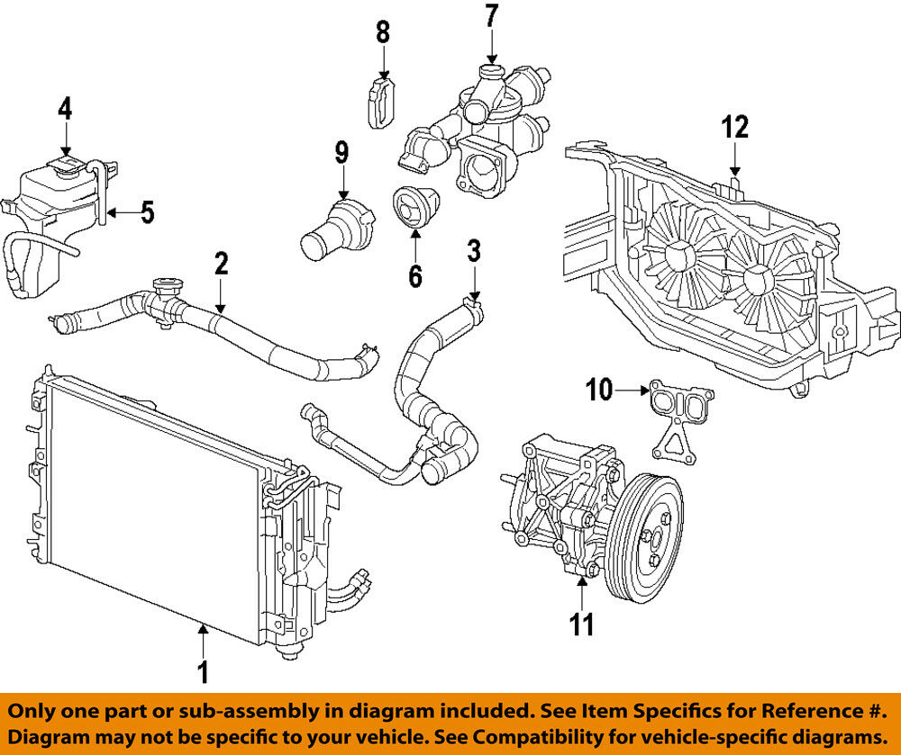 hight resolution of details about chrysler oem engine water pump 5047138ac