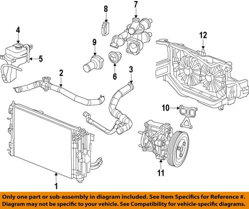 small resolution of details about chrysler oem engine water pump 5047138ac