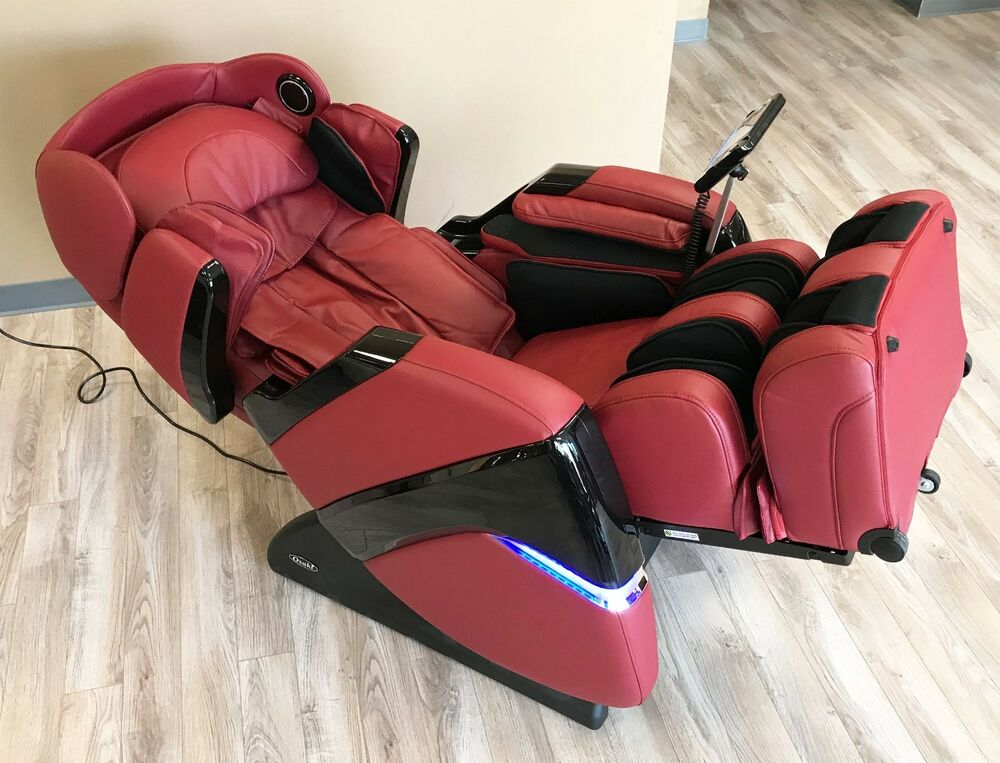 osaki os 3d pro cyber massage chair swivel kitchen chairs with casters 2 0 zero gravity recliner details about red