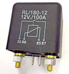 details about heavy duty 12v dc relay 100a automotive switch [ 870 x 1000 Pixel ]