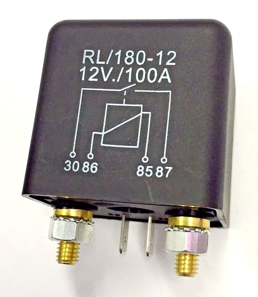 hight resolution of details about heavy duty 12v dc relay 100a automotive switch
