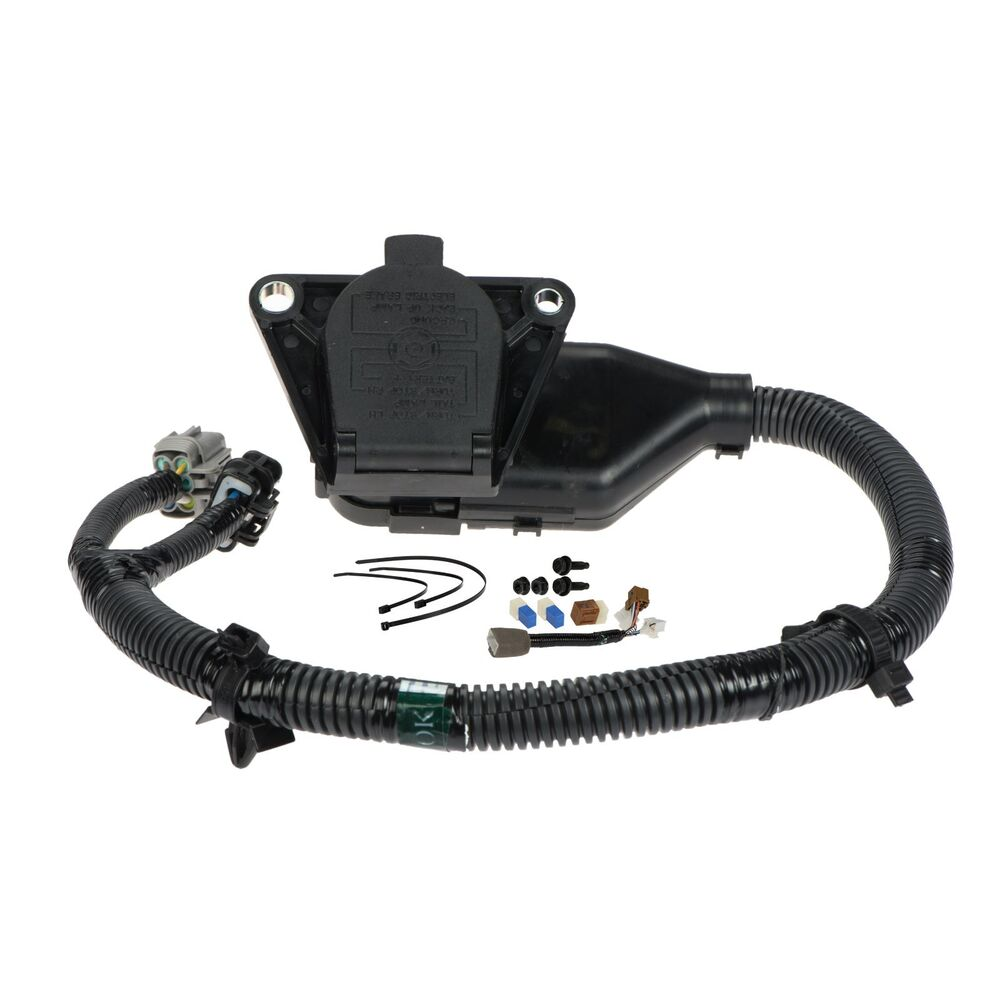 medium resolution of details about 2005 2015 nissan xterra 7 pin trailer tow harness oem new genuine 999t8 kr020