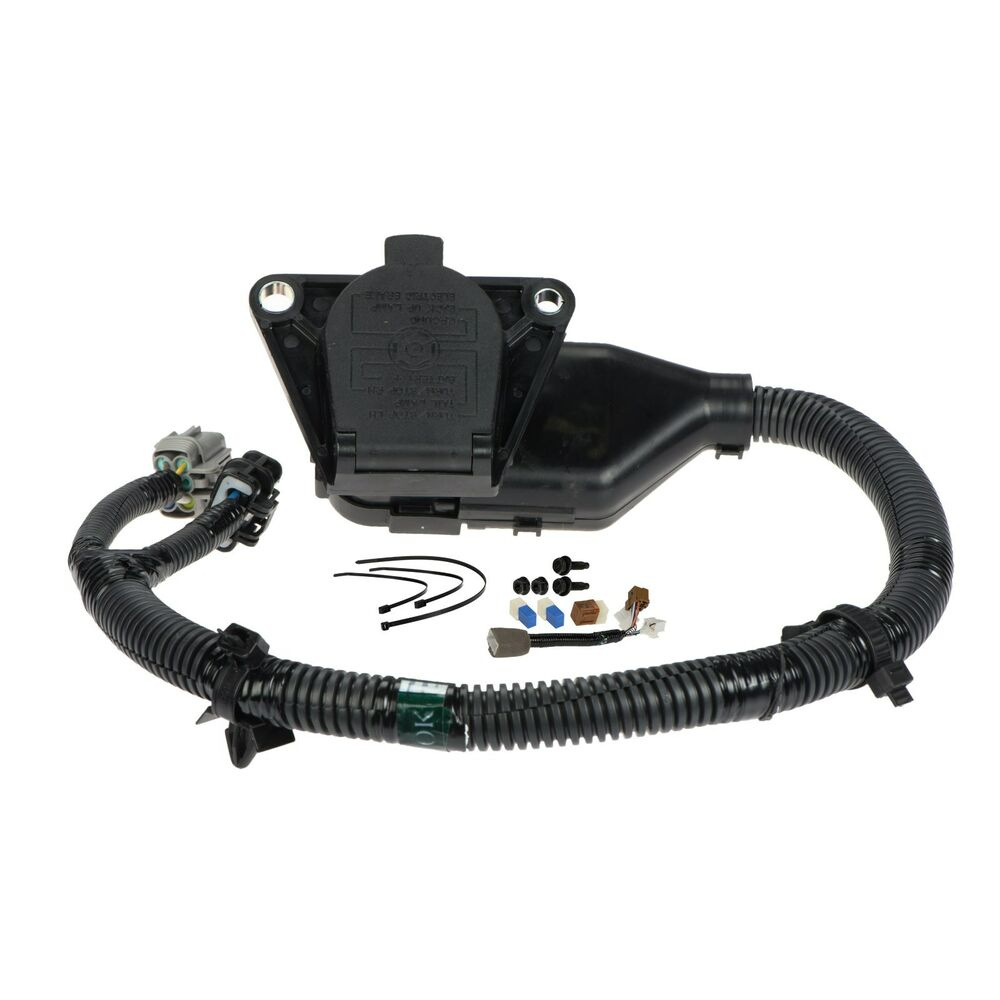 hight resolution of details about 2005 2015 nissan xterra 7 pin trailer tow harness oem new genuine 999t8 kr020