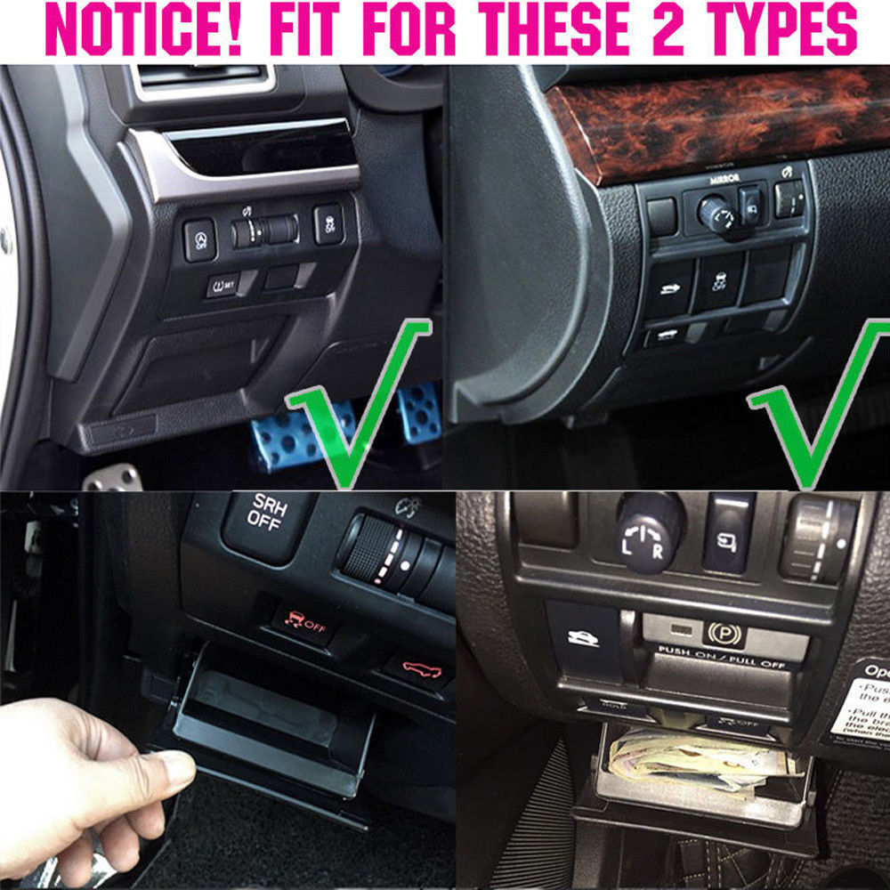 hight resolution of details about fuse coin box console storage bin tray fit for subaru xv forester impreza legacy