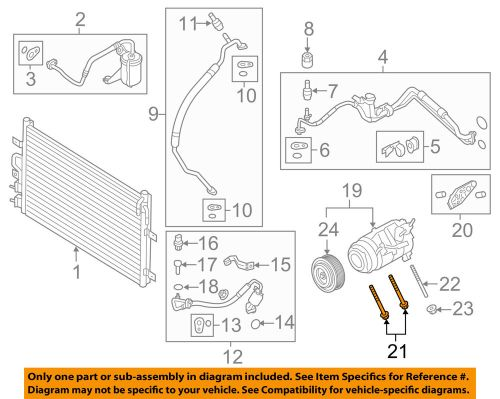 small resolution of details about a c ac condenser compressor line compressor assembly mount bolt w714077s439