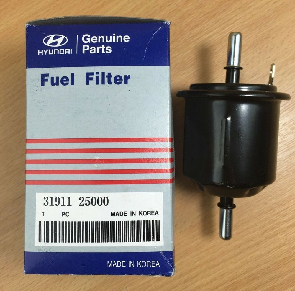 hight resolution of genuine oe hyundai fuel filter hyundai accent mk2 1 6 02 05 g4ed adl 3191125000 ebay
