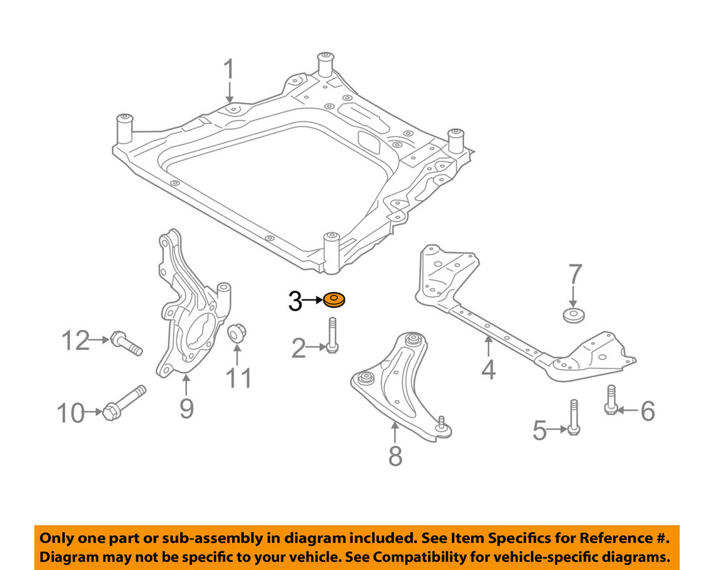 medium resolution of details about nissan oem 11 18 rogue front suspension engine cradle stopper 543424ba0a