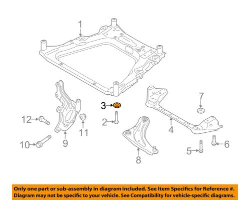 small resolution of details about nissan oem 11 18 rogue front suspension engine cradle stopper 543424ba0a