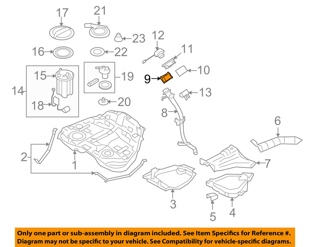 hight resolution of details about subaru oem 10 16 legacy 2 5l h4 fuel system filler pipe holder 42055al00a