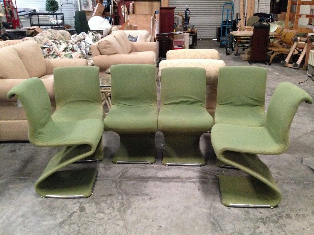 z chair mid century lawn webbing kit set of 6 vintage mcm modern chairs by rima linea details about disegno italy