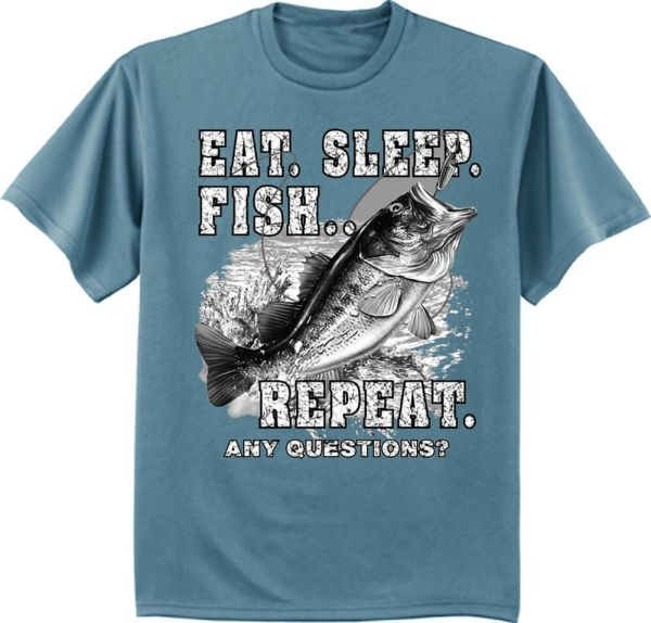 dee05522ed7 Funny Bass Fishing T Shirts - Year of Clean Water