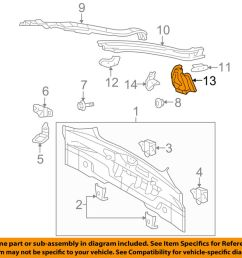 details about scion toyota oem tc rear body taillight tail light lamp panel left 6169821010 [ 1000 x 798 Pixel ]