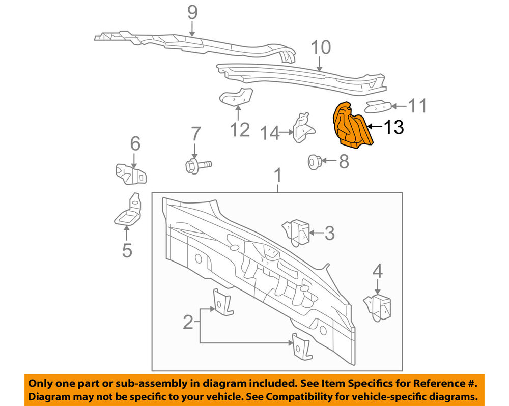 hight resolution of details about scion toyota oem tc rear body taillight tail light lamp panel left 6169821010