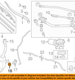 details about honda oem wiper washer windshield washer pump bushing 76842shja01 [ 1000 x 798 Pixel ]