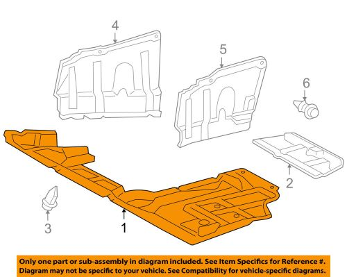 small resolution of details about toyota oem 2012 rav4 splash shield under engine radiator cover 514100r010