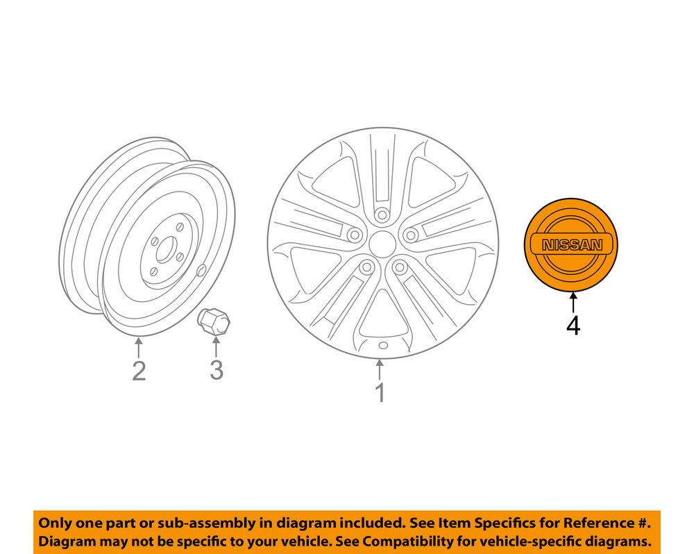 hight resolution of details about nissan oem 12 17 juke wheels center cap 403432dr0a