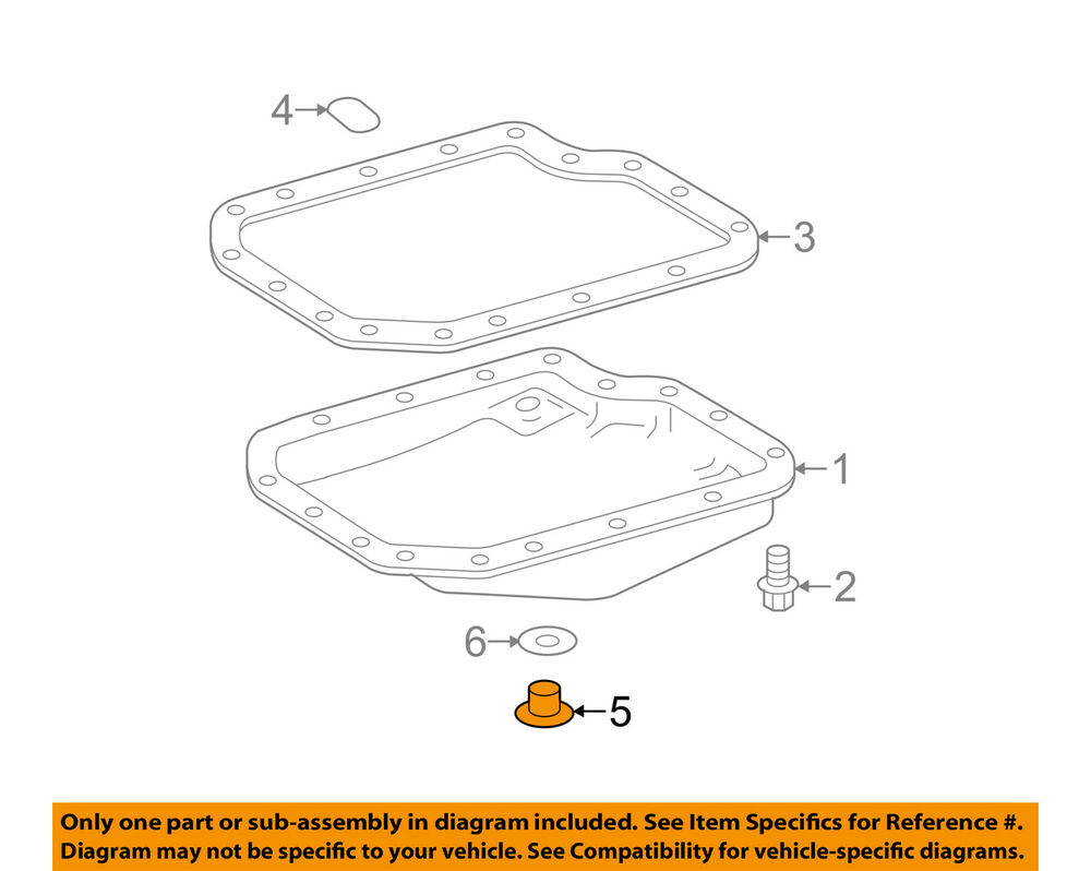 hight resolution of details about toyota oem transaxle trans oil pan drain plug 9034118016