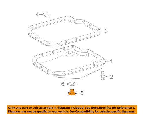 small resolution of details about toyota oem transaxle trans oil pan drain plug 9034118016