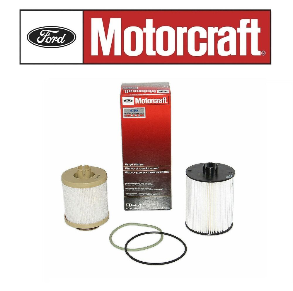 hight resolution of details about ford f350 f450 super duty 6 4 fuel filter motorcraft fd4617 8c3z 9n184 c new