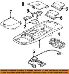 details about dodge chrysler oem 99 02 ram 3500 overhead roof console wire harness 5013609aa [ 957 x 1000 Pixel ]