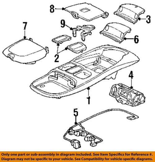 small resolution of details about dodge chrysler oem 99 02 ram 3500 overhead roof console wire harness 5013609aa