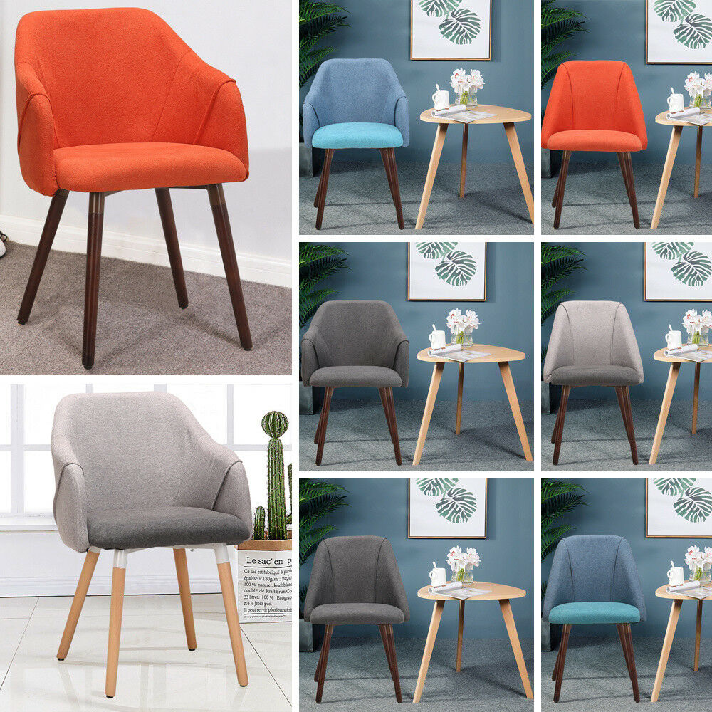 Blue Dining Chairs Oak Legs Gray Mint Green Blue Dining Chairs Padded Modern Living Room High Chair Ebay