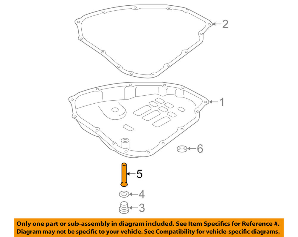 hight resolution of details about nissan oem 13 18 sentra transaxle parts drain plug tube 313293jx0d