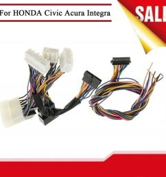 details about obd0 to obd1 ecu jumper conversion wiring harness for honda civic acura integra [ 1000 x 1000 Pixel ]